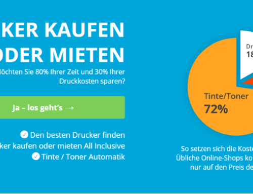 Neues Programm bei printer4you.com: Drucker All Inclusive mieten