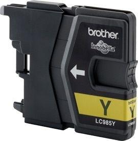 Brother Tinte gelb für DCP-J125, LC-985Y