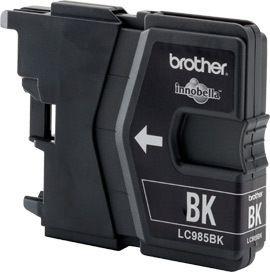 Brother Tinte schwarz für DCP-J125, LC-985BK