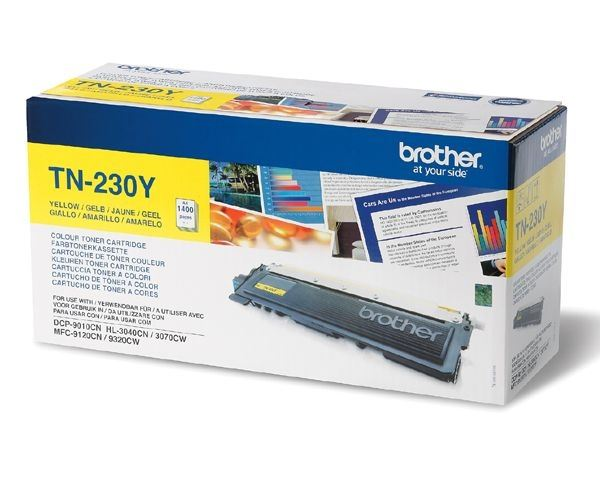 Brother Toner gelb für HL-3040CN, TN-230Y