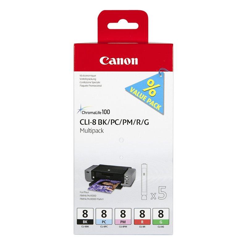 Canon Multipack BK+PC/PM/R/G (0620B027)