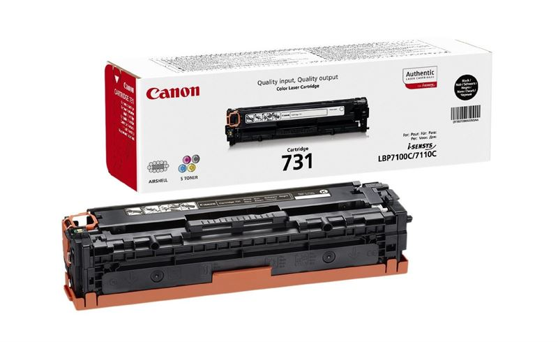 Canon Original - Cartridge 731 Bk schwarz