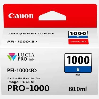 Canon Original - Tinte blau PFI-1000B - 0555C001AA