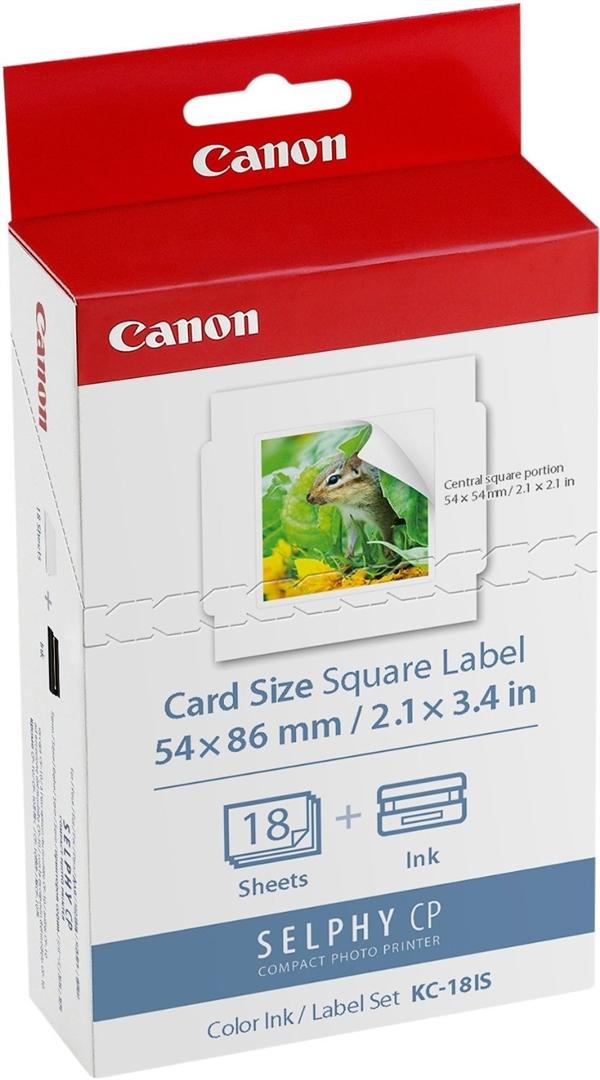 Canon Original - Tinte Papier-Kit  KC-18IS