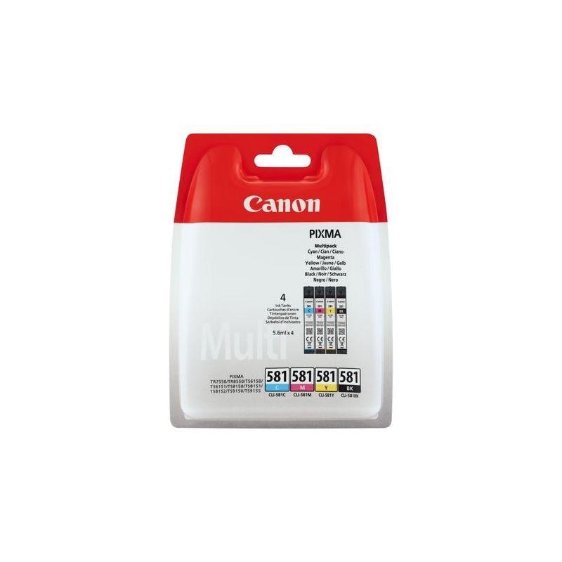 Canon Original Tinte Multi Pack CMYBK CLI-581 - 2103C004