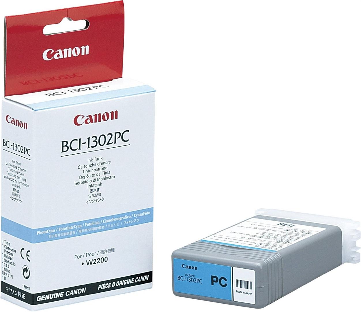 Canon Photopatrone cyan für Canon W2200