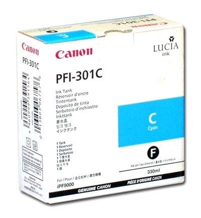 Canon Tinte cyan (1487B001) für IPF8000, PFI-301C