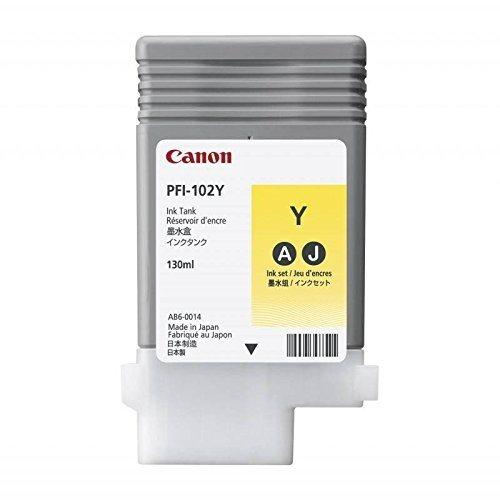 Canon Tinte gelb, PFI-102Y