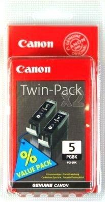 Canon Tinte schwarz 2er-Pack (0628B025)