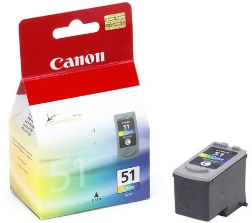 Canon Tintenpatrone color, CL-51 (0618B001) HC