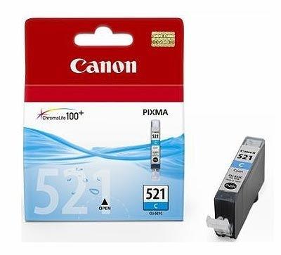 Canon Tintenpatrone cyan, CLI-521C (2934B001)