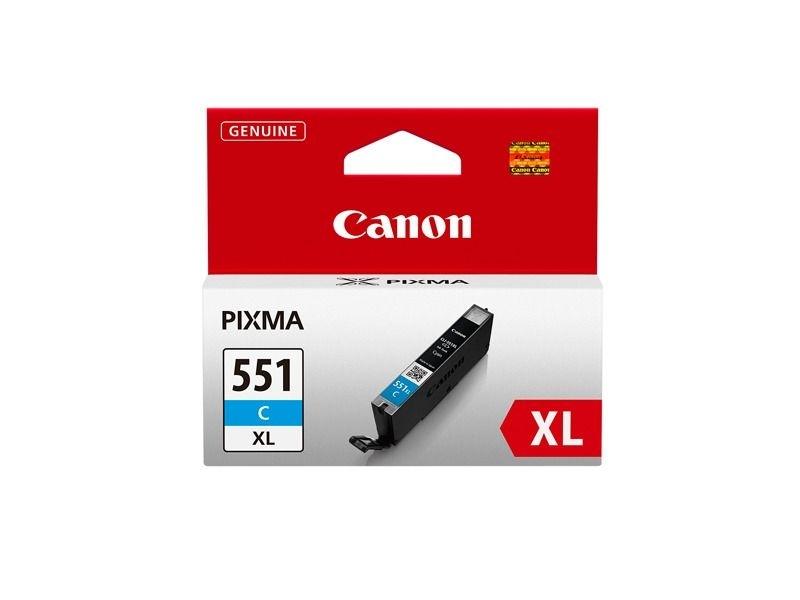 Canon Tintenpatrone cyan CLI-551XLC, 6444B001