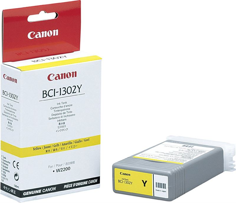 Canon Tintenpatrone gelb für W2200