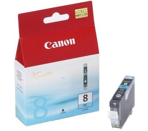 Canon Tintenpatrone photo cyan, CLI-8PC (0624B001)