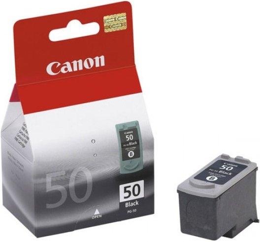 Canon Tintenpatrone schwarz, PG-50 (0616B001) HC
