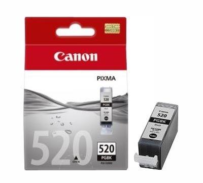 Canon Tintenpatrone schwarz, PGI-520BK (2932B001)