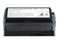 Dell Toner HC schwarz - 7Y610 / 593-10010