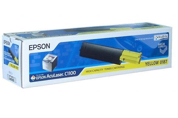 EPSON AcuBrite Toner für AcuLaser C1100/N, gelb