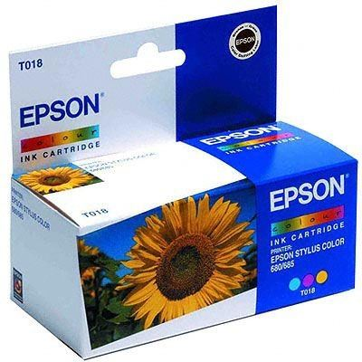 EPSON Farbtintenpatrone 680 -T018401 -