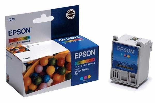 EPSON Farbtintenpatrone für Stylus C60, color