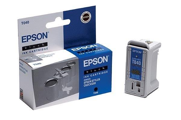 EPSON Farbtintenpatrone für Stylus C62, schwarz