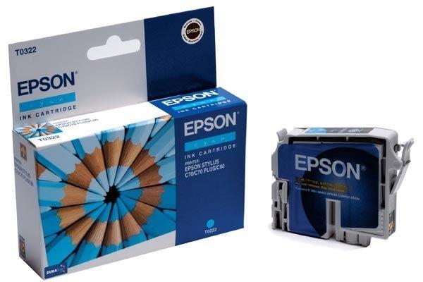 EPSON Farbtintenpatrone für Stylus C80, cyan
