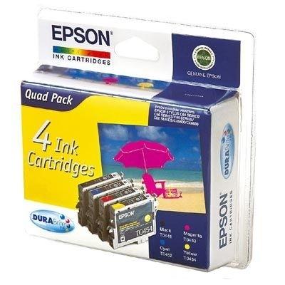 EPSON Multipack für Stylus schw.,cyan,magenta,gelb