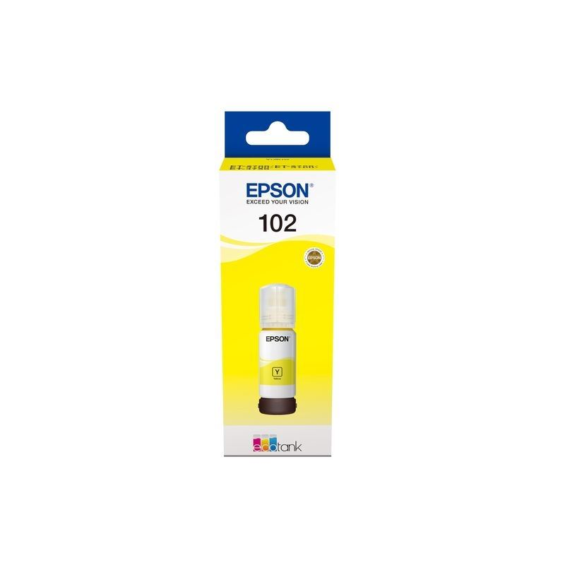 Epson Original 102 - Tinte gelb -  C13T03R440