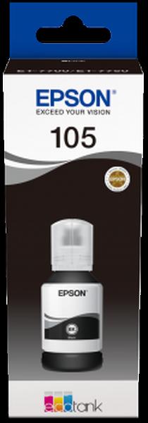 Epson Original 105 - Tinte schwarz -  C13T00Q140