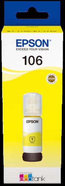Epson Original 106 - Tinte gelb -  C13T00R440