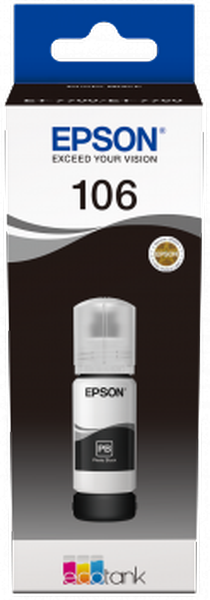Epson Original 106 - Tinte Photo schwarz -  C13T00R140