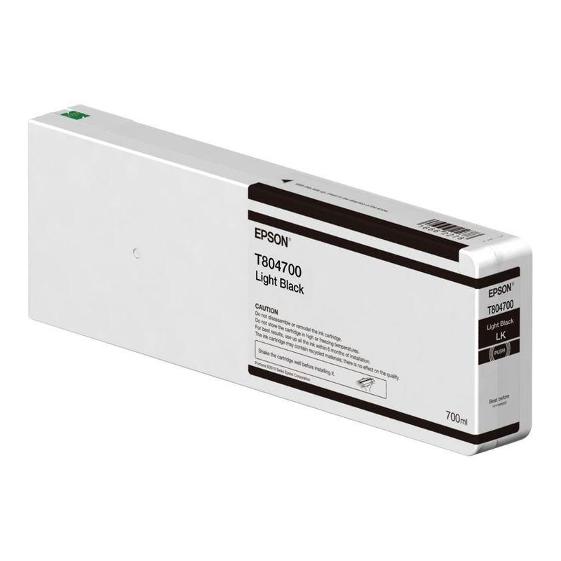 Epson Original Tinte hell-schwarz - C13T804600