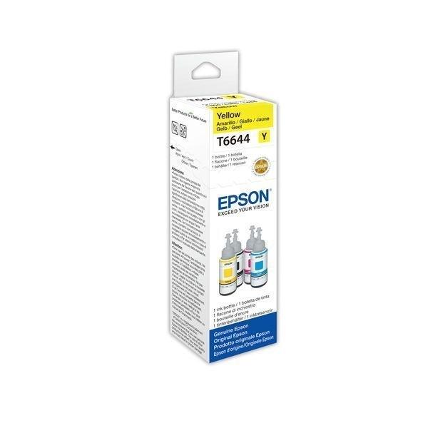 Epson Original Tintenpatrone gelb - T6644