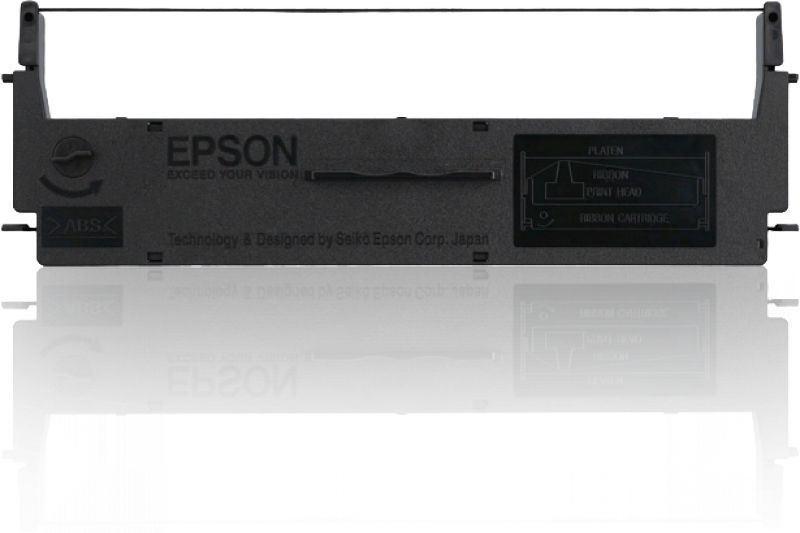Epson SIDM Black Farbbandkassette  - C13S015624