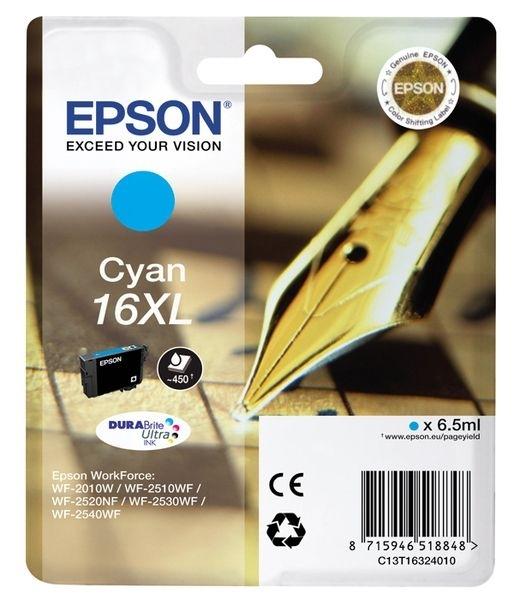 Epson Singlepack cyan 16XL Ultra Ink T1632