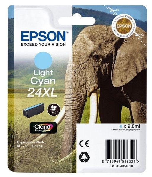Epson Singlepack Light cyan 24XL Claria T2435