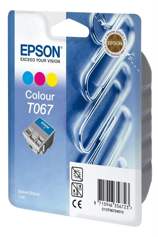 EPSON Tinte color T067040