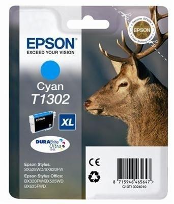Epson Tinte cyan XL für SX525WD, T13024010