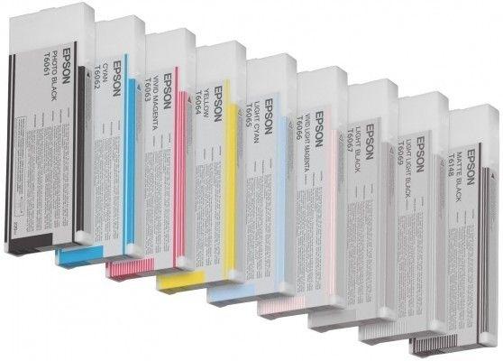 Epson Tinte für Pro 4880 light schwarz, HC