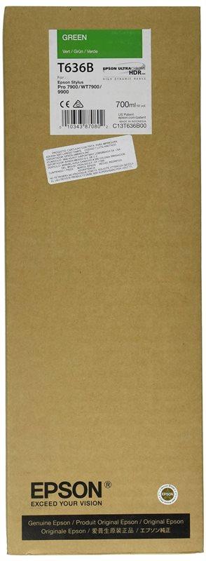 Epson Tinte grün für Pro7890, T636B00