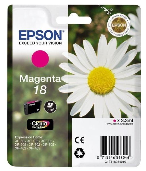 Epson Tinte magenta 18 Claria Home Ink T1803