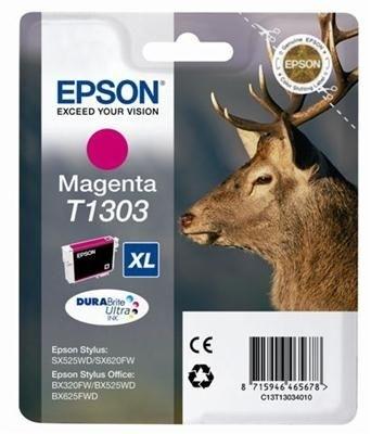Epson Tinte magenta XL für SX525WD, T13034010