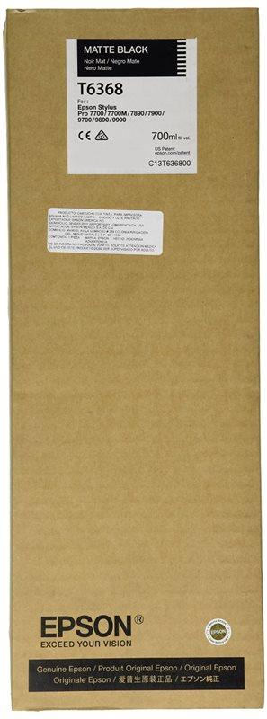 Epson Tinte matt schwarz für Pro7890, T636800