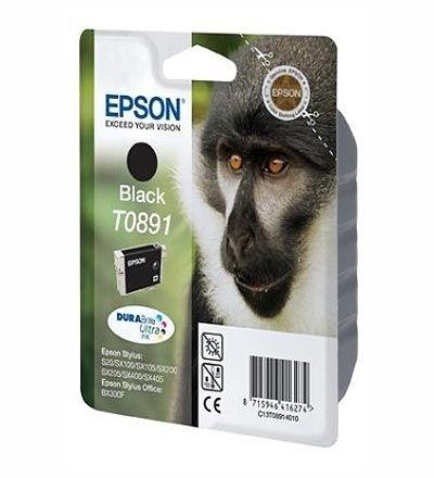 Epson Tinte schwarz T0891, DURABrite