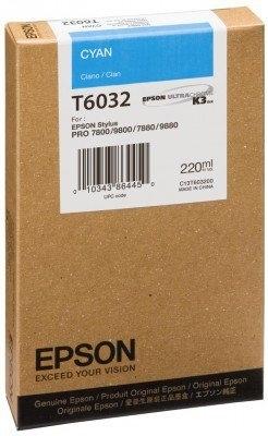 Epson Tintenpatrone cyan, T563200, HC