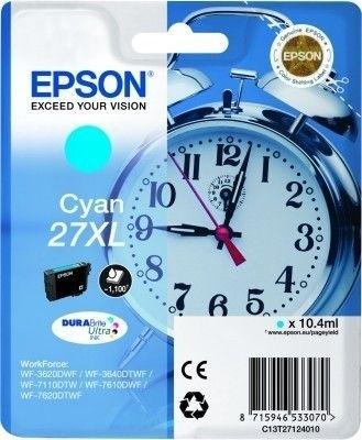 Epson Tintenpatrone cyan XL -  C13T27124010