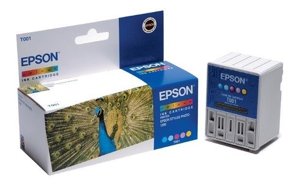 EPSON Tintenpatrone farbig - T001011