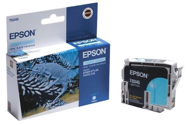 EPSON Tintenpatrone für Stylus Photo 2100, hellcya
