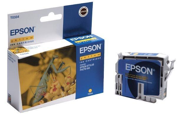 EPSON Tintenpatrone für Stylus Photo 950, yellow