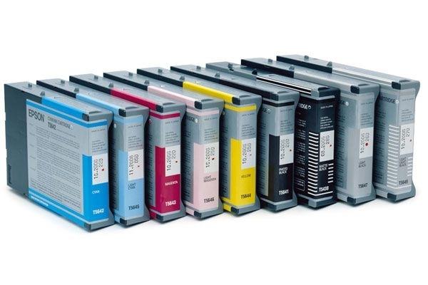 EPSON Tintenpatrone hellschwar für Stylus Pro 7600